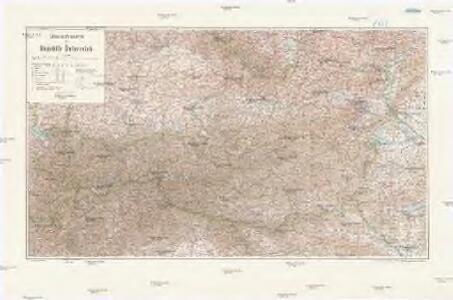 Übersichtskarte der Republik Österreich