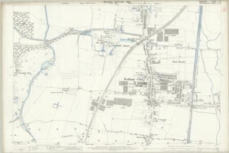 Middlesex II.12 (includes: Cheshunt; Enfield St Andrew) - 25 Inch Map
