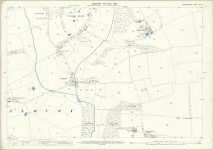Hertfordshire XIV.16 (includes: Albury; Furneux Pelham) - 25 Inch Map