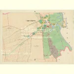 Unt: Lukawitz (Dolnj Lukawice) - c1336-1-003 - Kaiserpflichtexemplar der Landkarten des stabilen Katasters