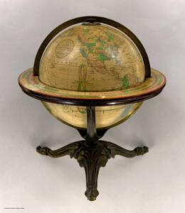 Franklin Terrestrial Globe 12 Inches in Diameter.