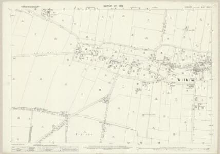 Yorkshire CXLV.9 (includes: Kilham; Nafferton) - 25 Inch Map
