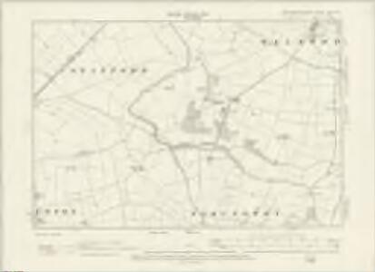 Northamptonshire XXII.SE - OS Six-Inch Map