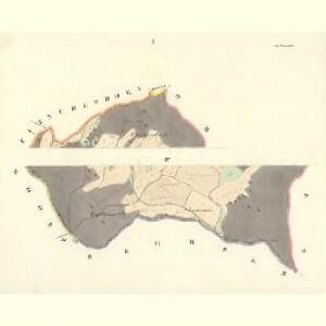 Alt Rowen - m2840-1-001 - Kaiserpflichtexemplar der Landkarten des stabilen Katasters
