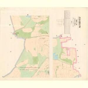Zborow - c9183-1-001 - Kaiserpflichtexemplar der Landkarten des stabilen Katasters