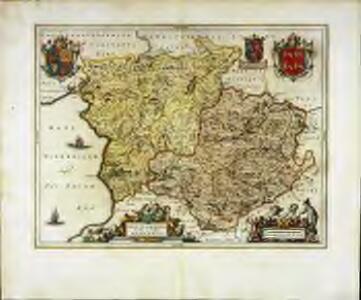 Montgomeria comitatus et comitatus Mervinia