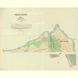 Ober Sandau - c2180-1-001 - Kaiserpflichtexemplar der Landkarten des stabilen Katasters