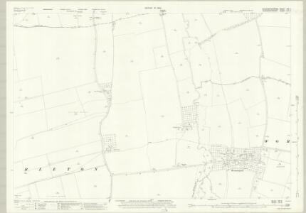 Gloucestershire XIII.3 (includes: Aston Somerville; Dumbleton; Sedgeberrow; Toddington) - 25 Inch Map