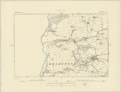 Devonshire XCVI.SE - OS Six-Inch Map