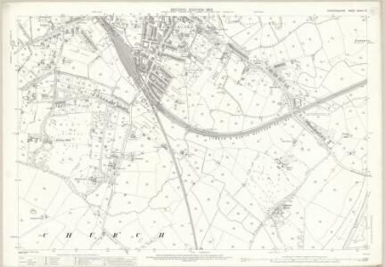 Staffordshire XXXVII.15 (includes: Stafford) - 25 Inch Map