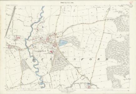 Shropshire LXX.15 (includes: Clungunford) - 25 Inch Map