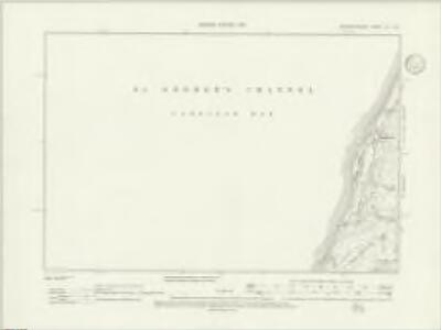 Merionethshire XL.SE - OS Six-Inch Map