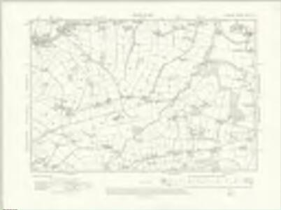 Cheshire XVII.SW - OS Six-Inch Map
