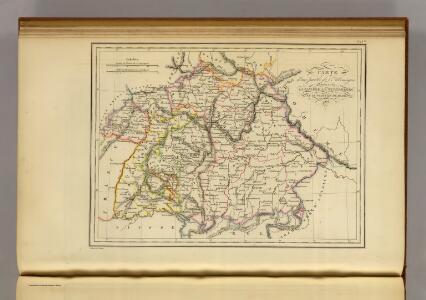 La Baviere, le Wurtemberg, et le Gr. Duche de Bade