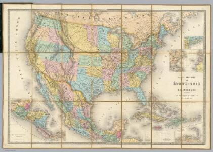 Carte Generale Des Etats.