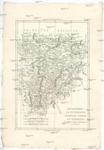 Gouvernements de Bourgogne, Franche Comté et Lyonnois