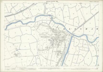 Sussex XLV.14 (includes: Icklesham; Udimore) - 25 Inch Map