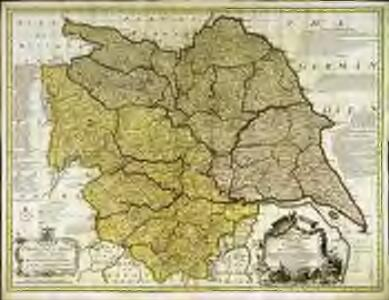 An accurate map of the County of York