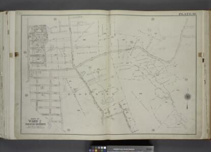 Part of Ward 2. [Map bound by Area PL, Franklin PL,   Norwalk Ave, Todt Hill Road, Ocean Terrace, Redmond Ave (Fark), Benedict Ave     (Atlantic Ave), New York Ave, Millard Ave, Borgert Ave, Pitt Ave, Gibson Ave,    Manor Road]