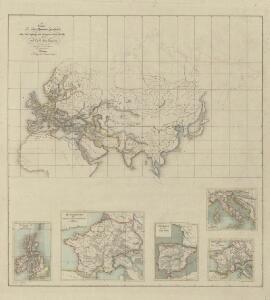 V. Charte für die allgemeine Geschichte vom Untergange des weströmischen Reichs bis auf Carl den Grossen : d. i. von 476-768 nach Christus