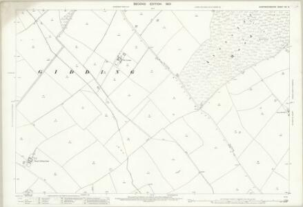 Huntingdonshire XIII.6 (includes: Hamerton; Sawtry; Steeple Gidding; Upton and Coppingford) - 25 Inch Map