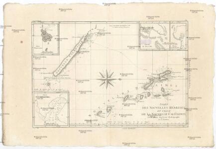 Isles des Nouvelles Hébrides, et celle de la Nouvelle Calédonie