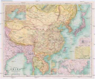 Map of China, Burma, Siam, Annam & c