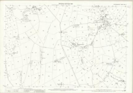 Staffordshire XXIX.5 (includes: Eccleshall) - 25 Inch Map