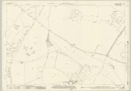 Wiltshire XXII.15 (includes: Berwick Bassett; Broad Hinton; Ogbourne St Andrew; Preshute; Winterbourne Bassett) - 25 Inch Map