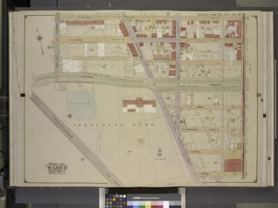 Brooklyn, Vol. 1, Double Page Plate No. 18; Part of   Ward 9, Section 4; [Map bounded by Sterling PL., Franklin Ave., Crown St.,       Washington Ave.; Including  Flatbush Ave., Eastern Parkway, Underhill Ave.]