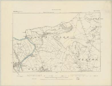 Somerset VII.SW - OS Six-Inch Map