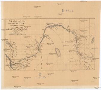 Západní polovice rovníkové Afriky s výzpytnými cestami po suchu a po vodě Henryho Stanleye v letech 1874-1877