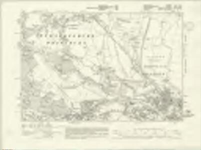Berkshire XL.NE - OS Six-Inch Map