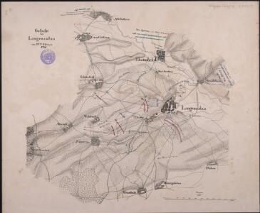 Gefecht bei Langensalza am 15ten Februar 1761