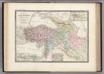 Asie Mineure, Armenie, Syrie, Mesopotamie.