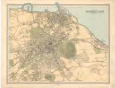 Leith Scotland Map.Plan Of Edinburgh And Leith Bartholomew S Survey Atlas Of Scotland