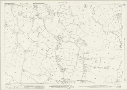 Kent LII.9 (includes: Marden; Yalding) - 25 Inch Map