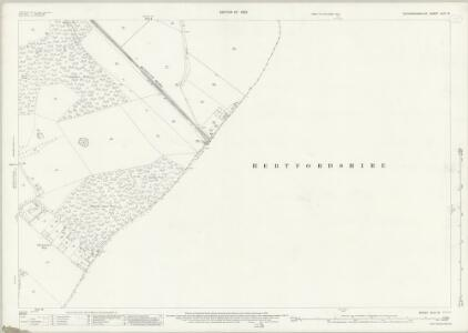 Buckinghamshire XLIII.12 (includes: Chalfont St Peter; Chenies; Chorleywood; Rickmansworth Urban) - 25 Inch Map