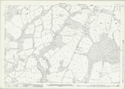 Surrey XL.10 (includes: Abinger; Ockley) - 25 Inch Map