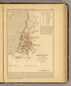 La Terre Sainte sous Salomon.