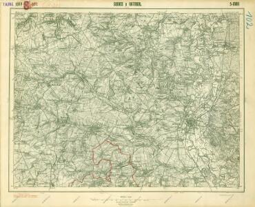III. vojenské mapování 3960