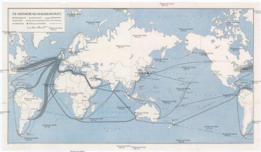 Die Weltmeere als Kriegsschauplatz