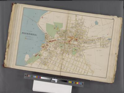 Westchester, Double Page Plate No. 26 [Map of village of Peekskill] / prepared under the direction of Joseph R. Bien, from general surveys and official records.