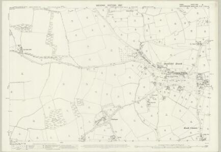 Essex (1st Ed/Rev 1862-96) XXXI.16 (includes: Hatfield Broad Oak; Little Hallingbury; Sawbridgeworth; Sheering) - 25 Inch Map