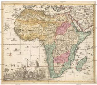 Acuratissima totius Africae tabula