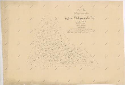 Porostní mapa revíru Folmava