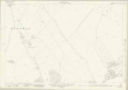 Oxfordshire XLVII.13 (includes: Brightwell Baldwin; Britwell; Cuxham with Easington; Watlington) - 25 Inch Map