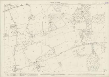 Hampshire and Isle of Wight XCIV.7 (includes: Calbourne; Newport) - 25 Inch Map