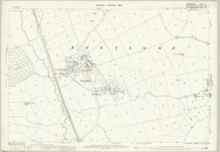 Oxfordshire XIII.7 (includes: Adlestrop; Broadwell; Chastleton; Donnington; Evenlode; Longborough) - 25 Inch Map