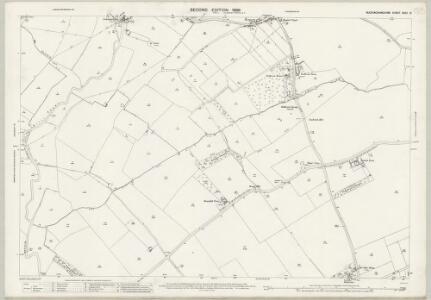 Buckinghamshire XXXII.8 (includes: Cuddington; Haddenham; Lower Winchendon) - 25 Inch Map